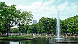 代々木公園 噴水