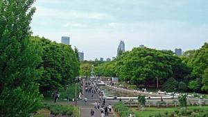 代々木公園外観
